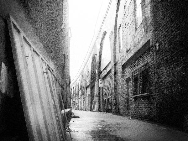 Callejón en Whitechapel