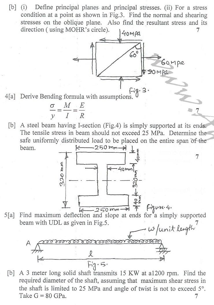 DTU Question Papers 2010 – 4 Semester - End Sem - ME-212