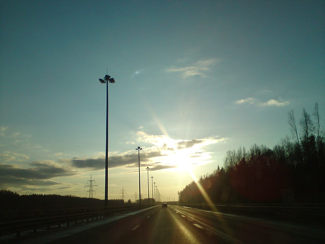 Яркое солнце // Bright sun