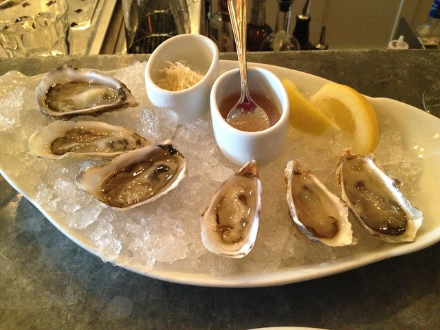 Half dozen oysters - The Walrus and the Carpenter