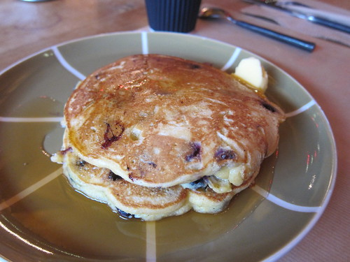Johnnycakes with Blueberries