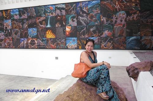 me beside a huge canvas