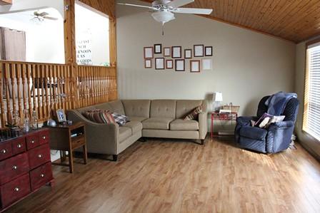 Christina and David's home