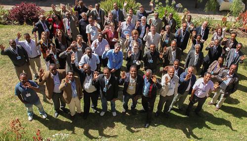 Group photo: NBDC / Land and Water Management National Platform Meeting 4 (Credit: ILRI/Zerihun Sewunet)