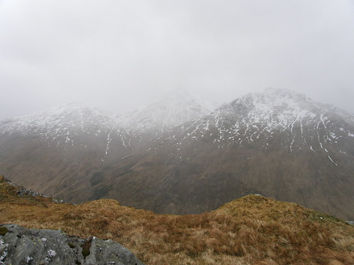 Beinn Ime and neighbours disappear.