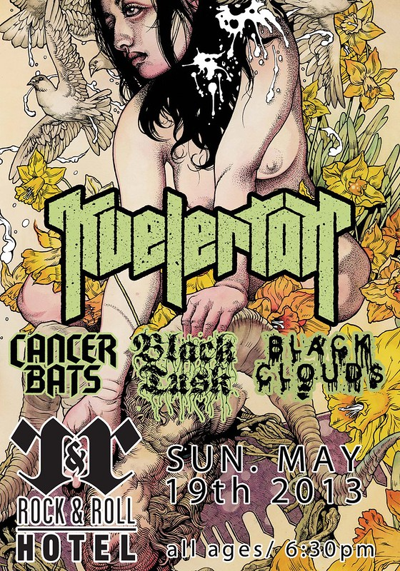 Kvelertak at the Rock And Roll Hotel