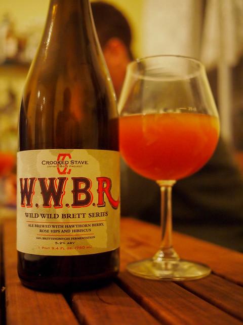 Crooked Stave Wild Wild Brett Rouge (WWBR)