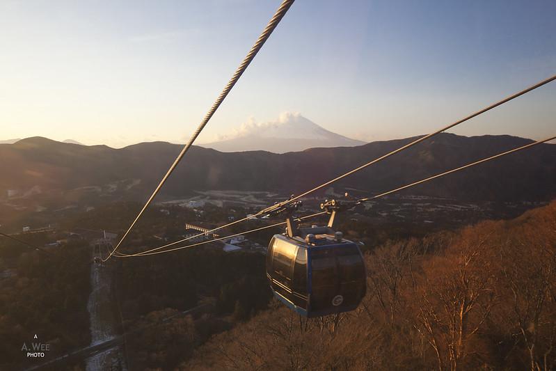 Sunset View of Mt Fuji 富士山
