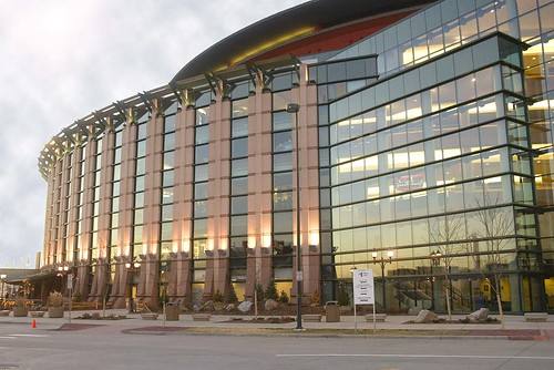 Exterior view of the Pepsi Center by Denver Sports Events