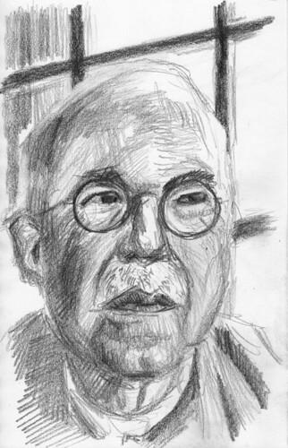 Gustav Schiefler by husdant
