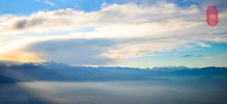 Descent into Santiago