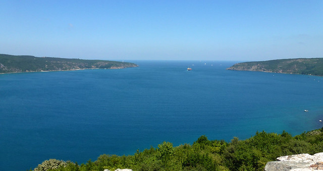 Turquie - jour 4 - Istanbul - 40 - Anadolu Kavağı - Mer Noire (Karadeniz)