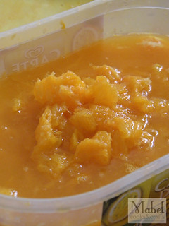 Marmalade 2013: Pulp from juicing oranges