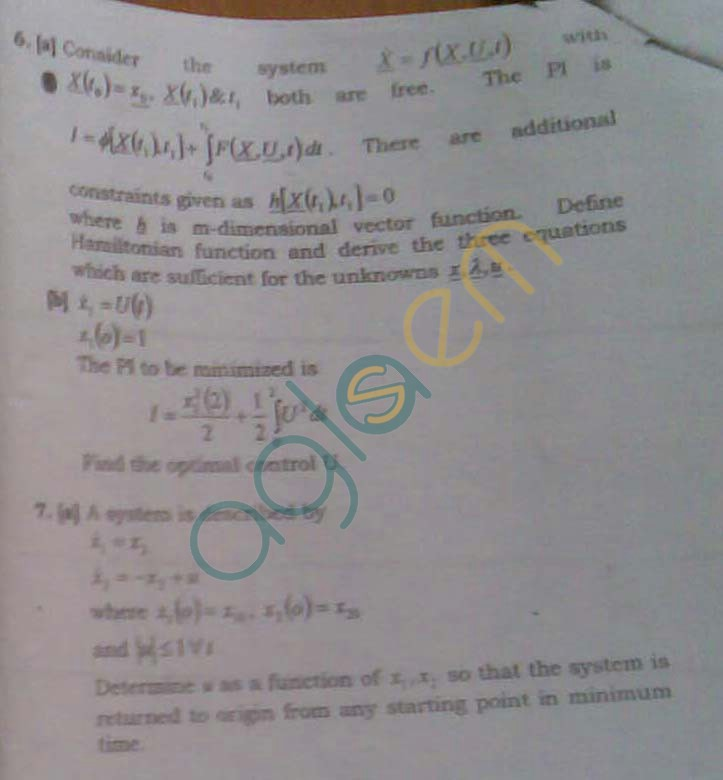 NSIT: Question Papers 2009 – 7 Semester - End Sem - IC-401