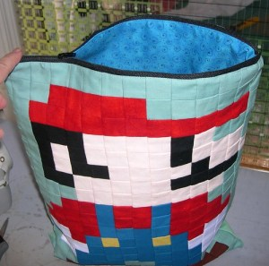A Mario Zippered Pouch