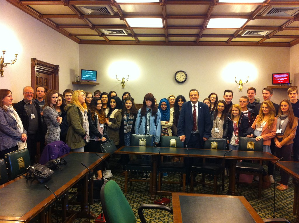 Huddersfield Students in Westminster