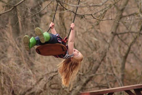 Swing in Spring