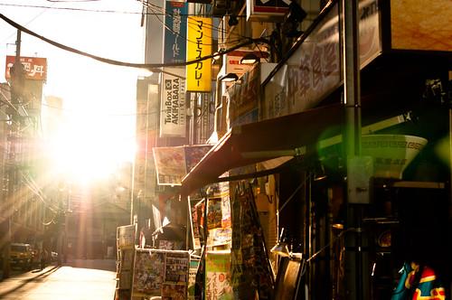Akihabara at dusk