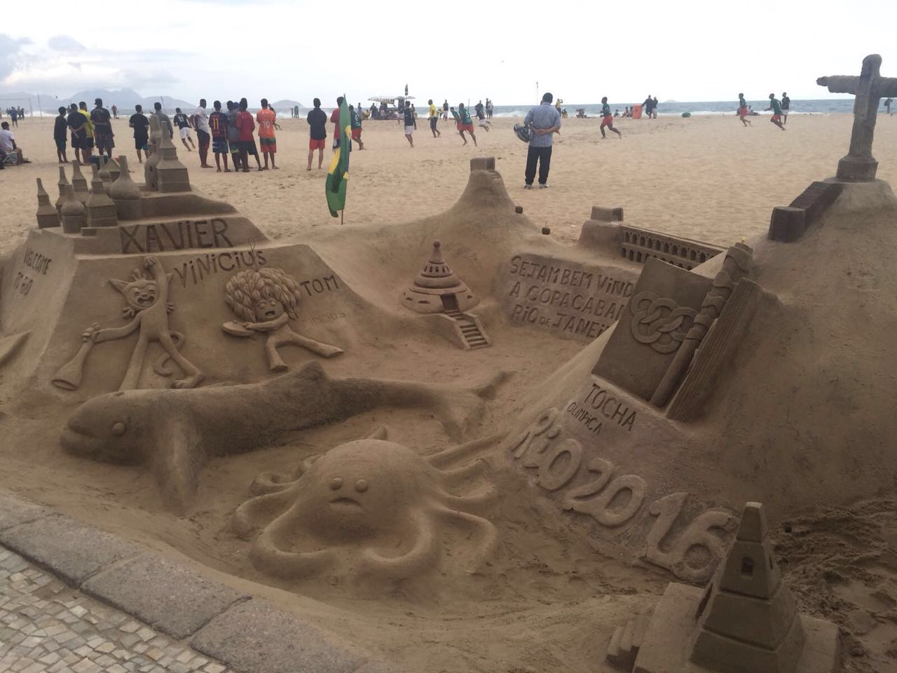 Beachfront scenes