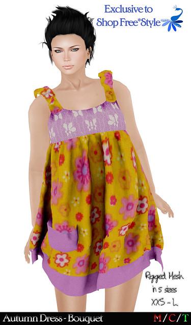 ZcZ Autumn Dress Bouquet