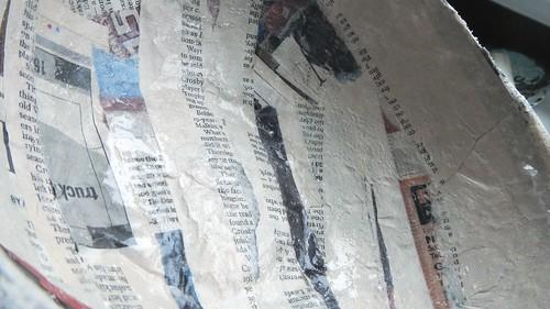 Papier Mache Bowls 11