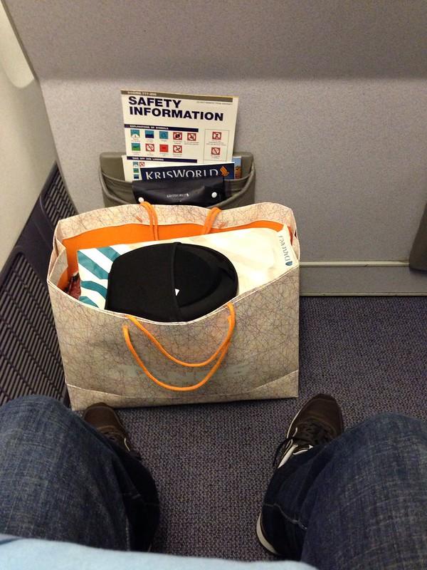 Bulkhead Business Class Seat Pitch
