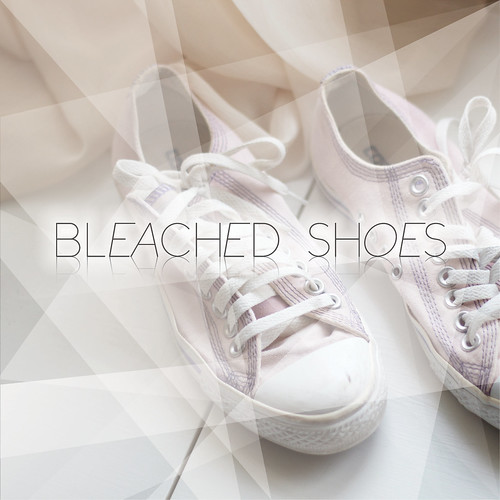 bleached Shoes