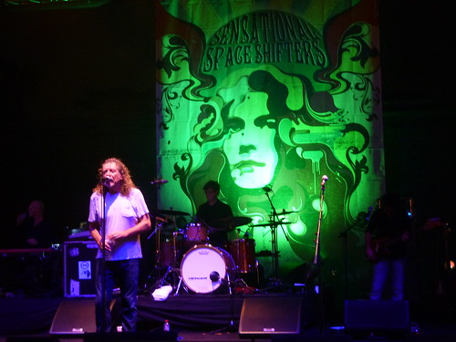 robert plant and the sensational space shifters by ariddesert87