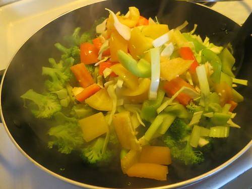 Vegetable stirfry
