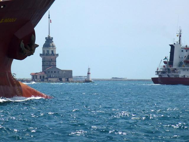 Turquie - jour 3 - Istanbul - 28 - Sur le Bosphore jusqu'à Üsküdar
