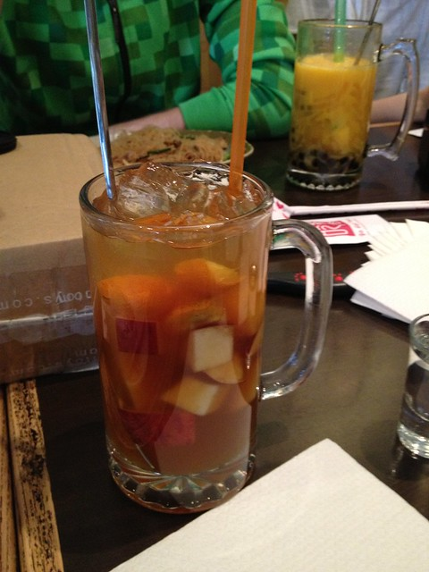 Mixed fruit tea