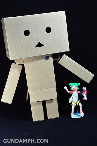 Big Scale Danboard Cardboard Assembling Kit Review (66)