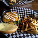 The Burgernator - the burger and fries