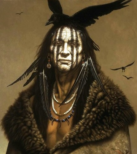 The Lone Ranger 79107 Comanche Camp Kirby Sattler I Am Crow