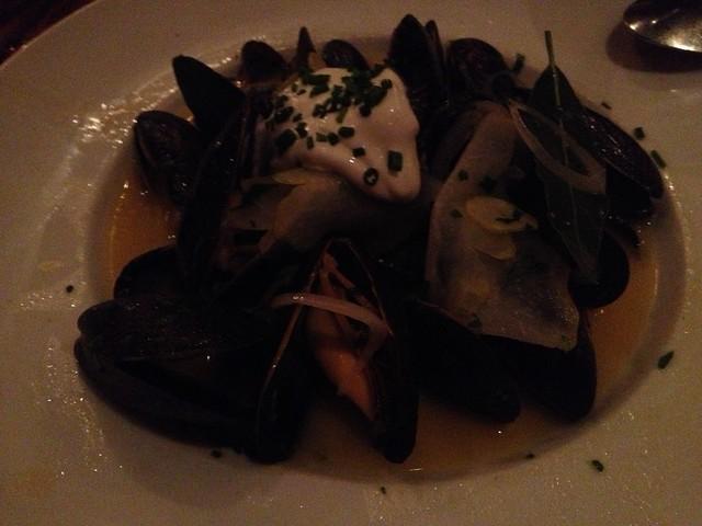 Steamed Prince Edward Island mussels - Wayfare Tavern
