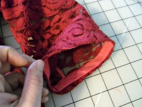 Lace Valentine's Dress