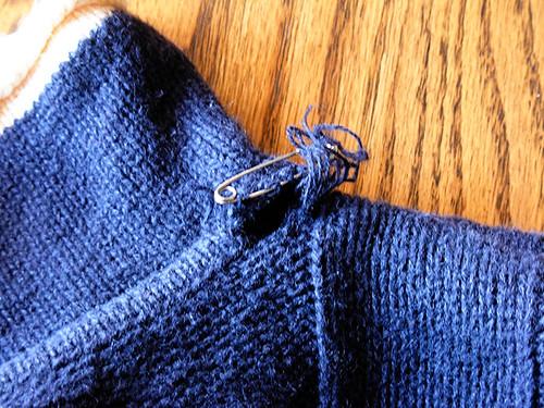Repair - Blue Sweater