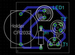 pcb amb fototransistor