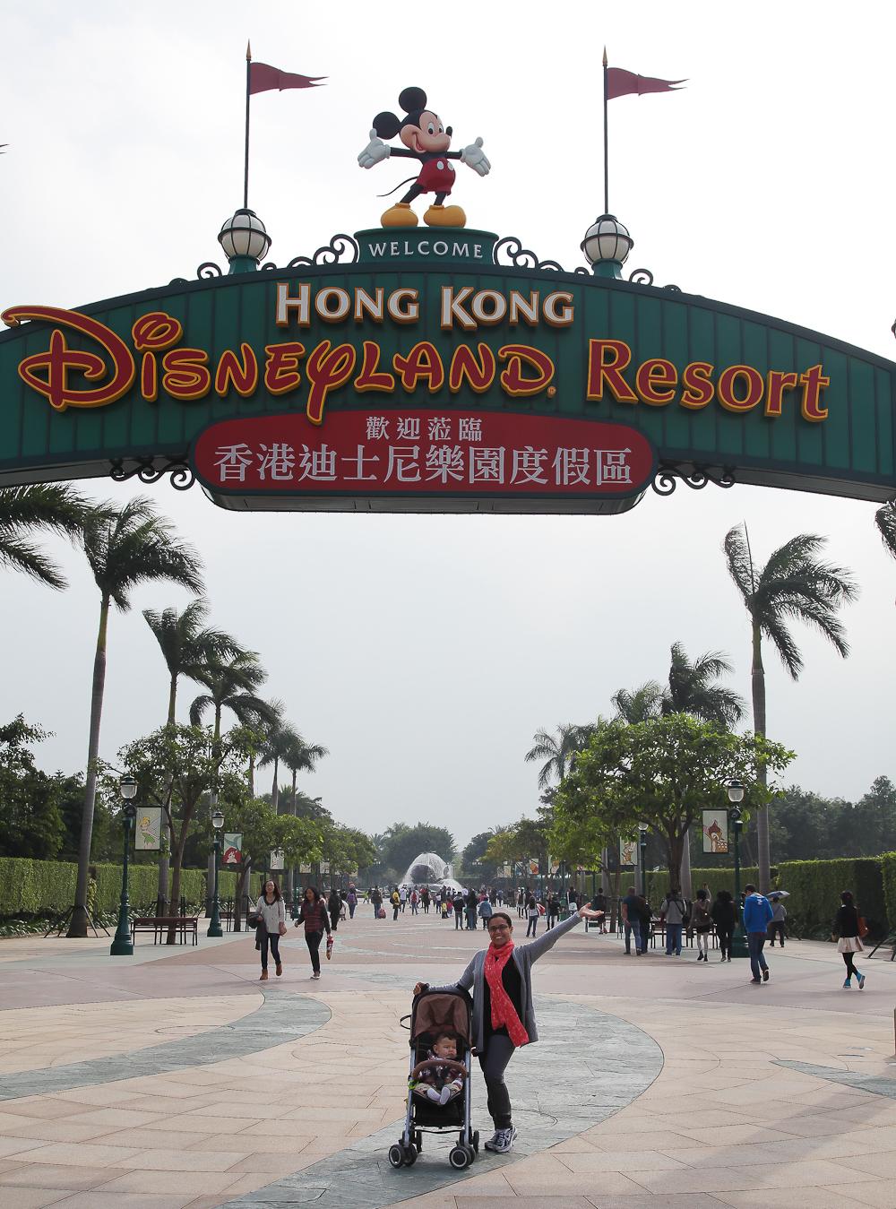Hello from Disneyland!