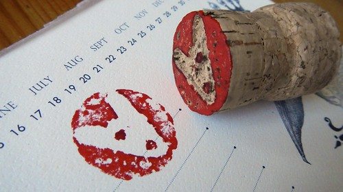 Cork Stamps 9