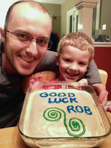 Good luck Rob