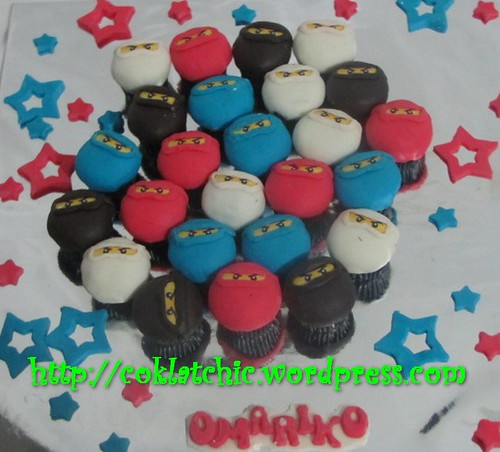 Minicupcake Ninjago