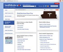 Find a Librarian: healthfinder