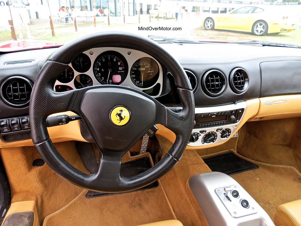 Ferrari 360 Modena Interior