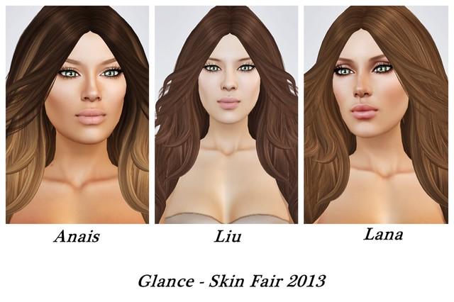 Glance Skin Fair 2013