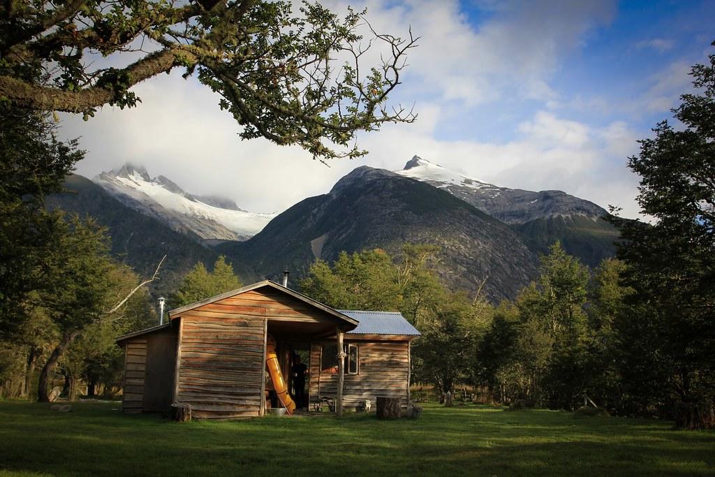 Refugio Los Nadis. Baker basin. Aysen, Patagonia, Chile.