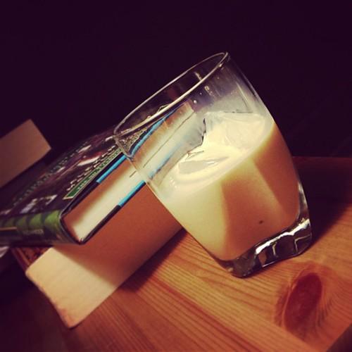 Bourbon cream on ice and lotsa books :)
