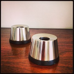 Mid Century Modern Cultura Candle Holders.
