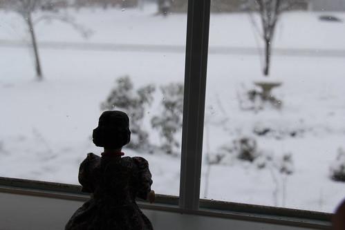 It snow today