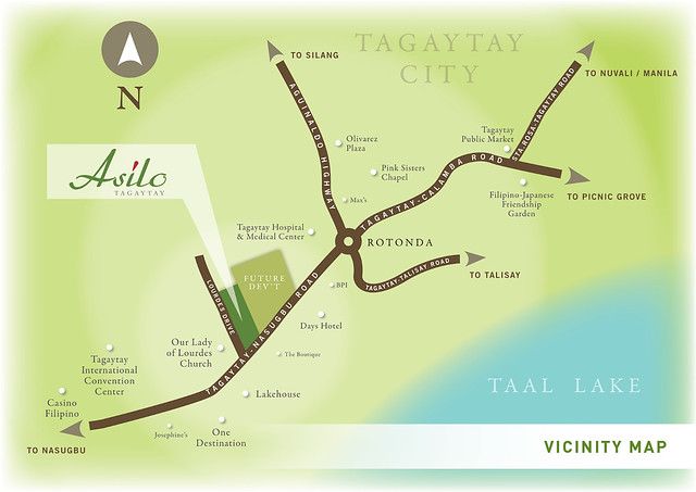 ASILO TAGAYTAY_Vicinity map